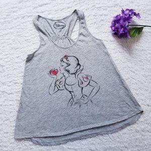 Disney Snow White w. Apple Tank Top Size Small